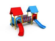 Parque infantil 3d model