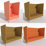 Soffa Mona High 3d model