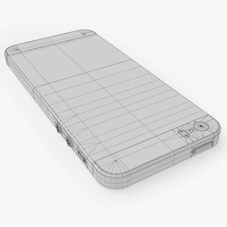 iPhone SE royalty-free 3d model - Preview no. 26