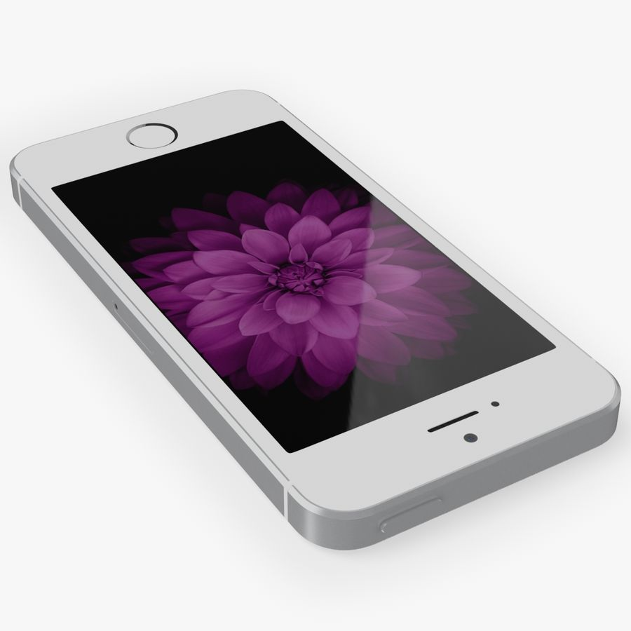 iPhone SE royalty-free 3d model - Preview no. 7