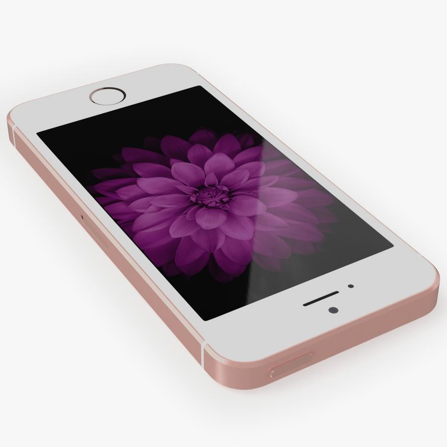 iPhone SE royalty-free 3d model - Preview no. 8