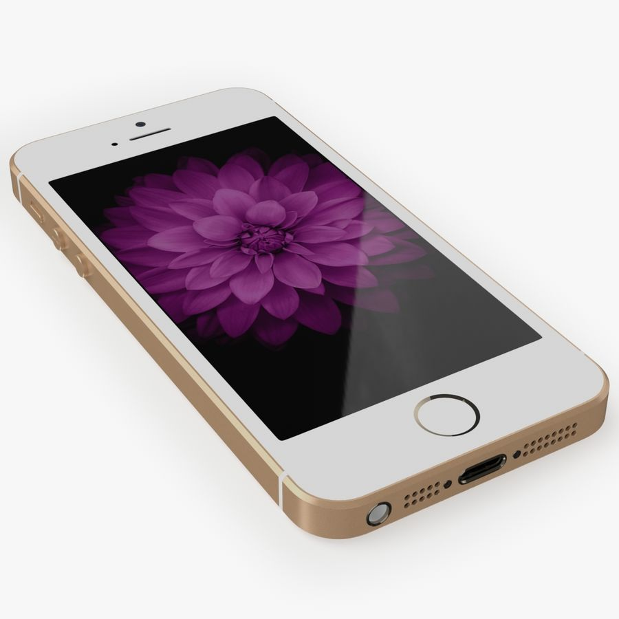 iPhone SE royalty-free 3d model - Preview no. 14