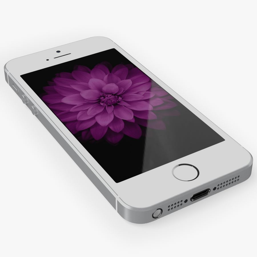 iPhone SE royalty-free 3d model - Preview no. 11