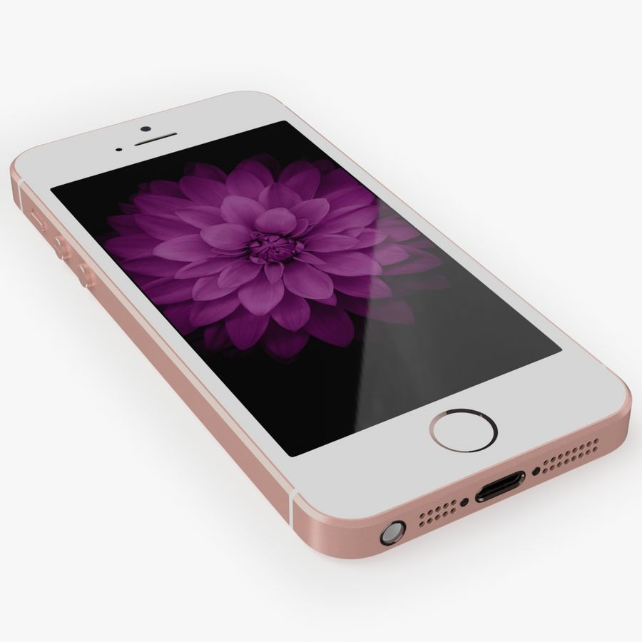 iPhone SE royalty-free 3d model - Preview no. 12