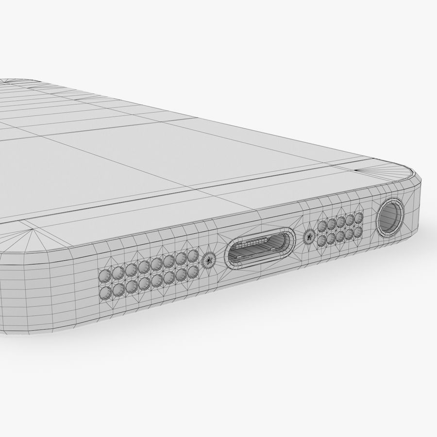 iPhone SE royalty-free 3d model - Preview no. 28