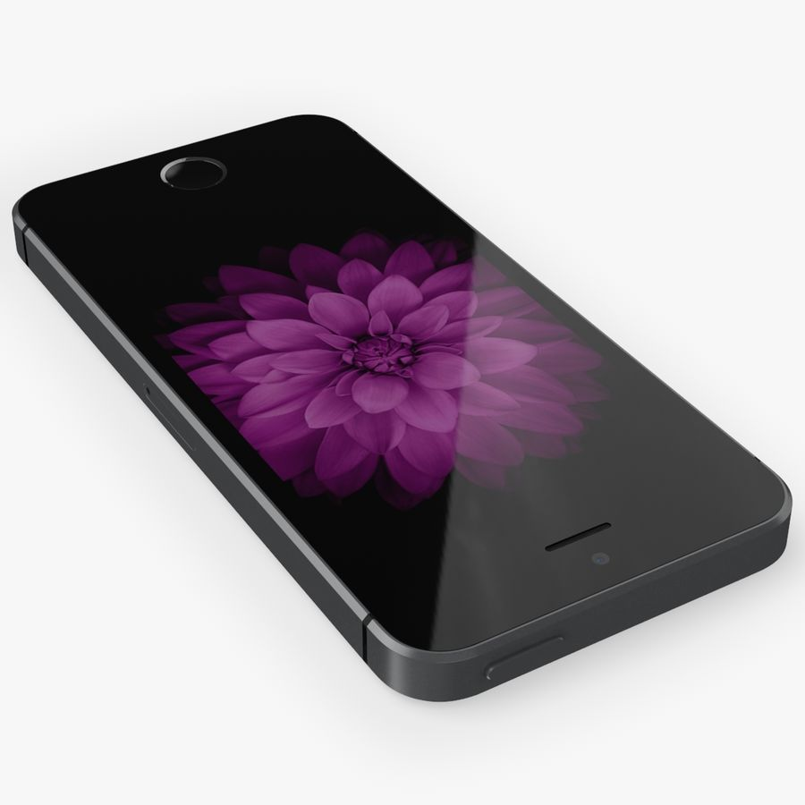 iPhone SE royalty-free 3d model - Preview no. 9