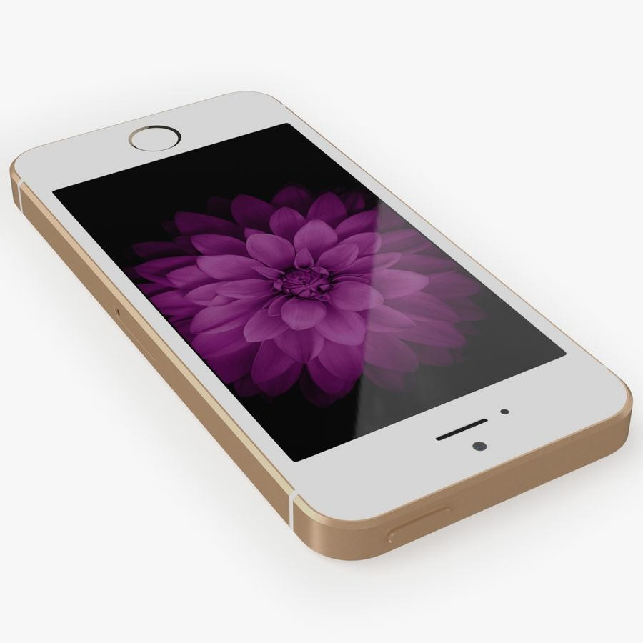iPhone SE royalty-free 3d model - Preview no. 10