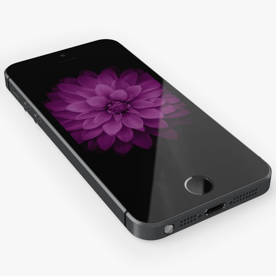 iPhone SE royalty-free 3d model - Preview no. 13