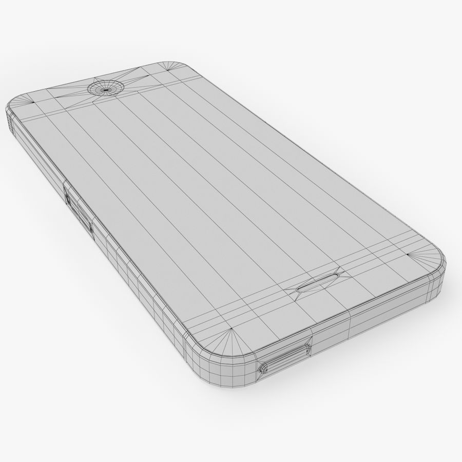 iPhone SE royalty-free 3d model - Preview no. 25