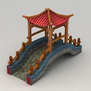 대표성 중국 다리 3d model
