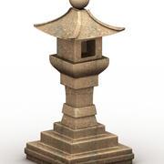 Japanese Column 3d model