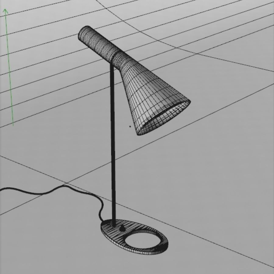 Arne Lamp royalty-free 3d model - Preview no. 2