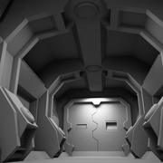 Scifi Interieur 3d model