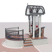 Memorial arch 3d model