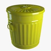 Trash can 3d model