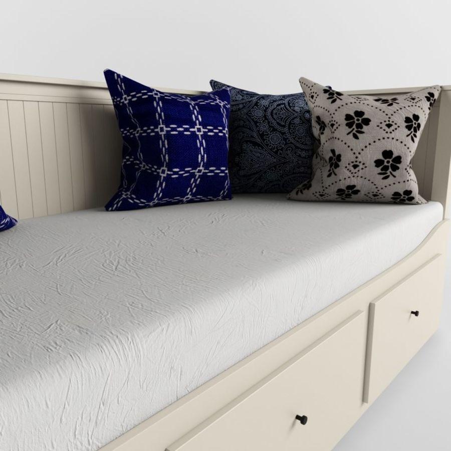 沙发床IKEA HEMNES royalty-free 3d model - Preview no. 7