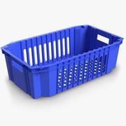 Plastic Crate 2 3d model
