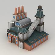 Lowpoly啤酒厂 3d model