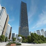 Trump World Tower Original 3d model