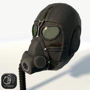 防毒面具N5低聚 3d model