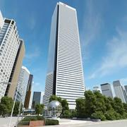 First Canadian Place Original 3d model