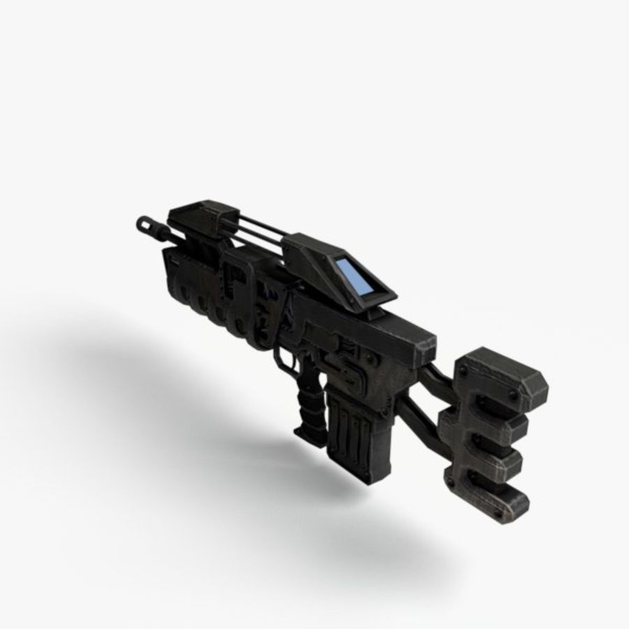 Automatkarbin royalty-free 3d model - Preview no. 2