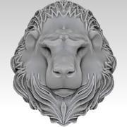 Lion Statue 3d model