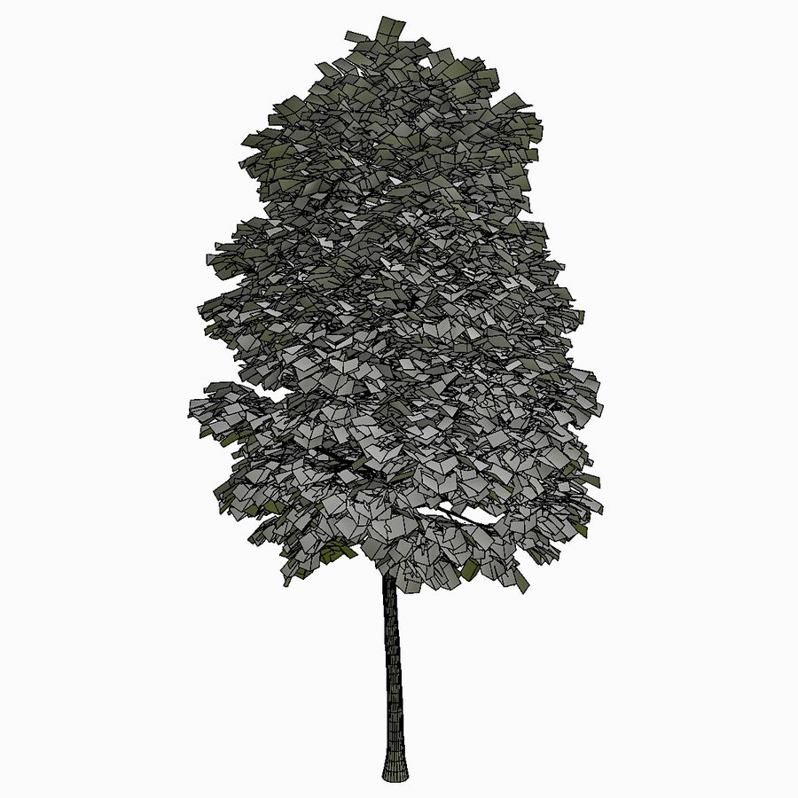 Tree #18 royalty-free 3d model - Preview no. 5