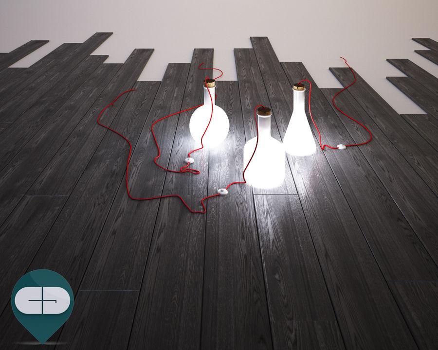 dark floor royalty-free 3d model - Preview no. 6