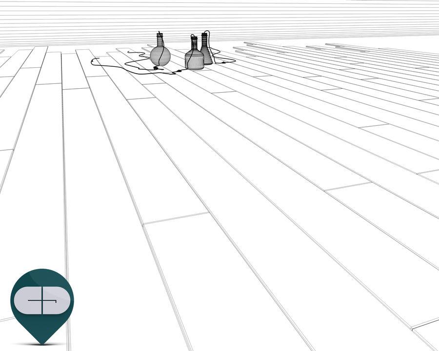 dark floor royalty-free 3d model - Preview no. 7