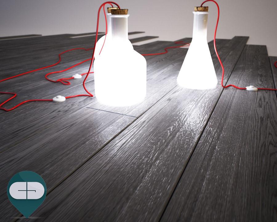 dark floor royalty-free 3d model - Preview no. 3