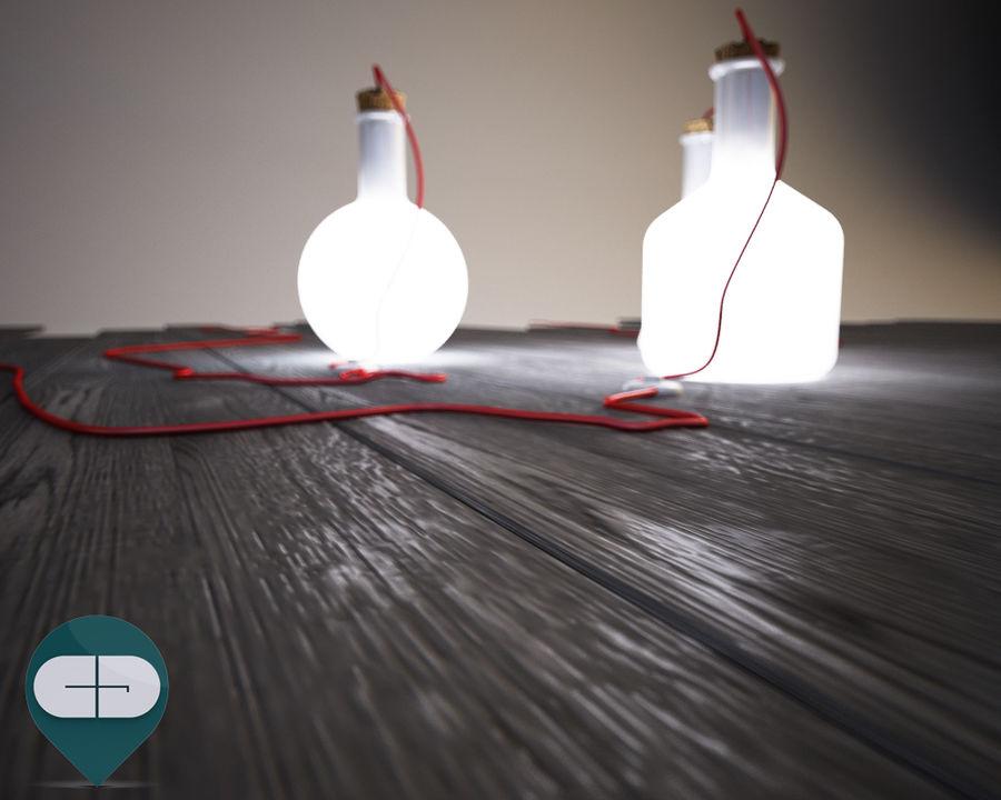 dark floor royalty-free 3d model - Preview no. 2