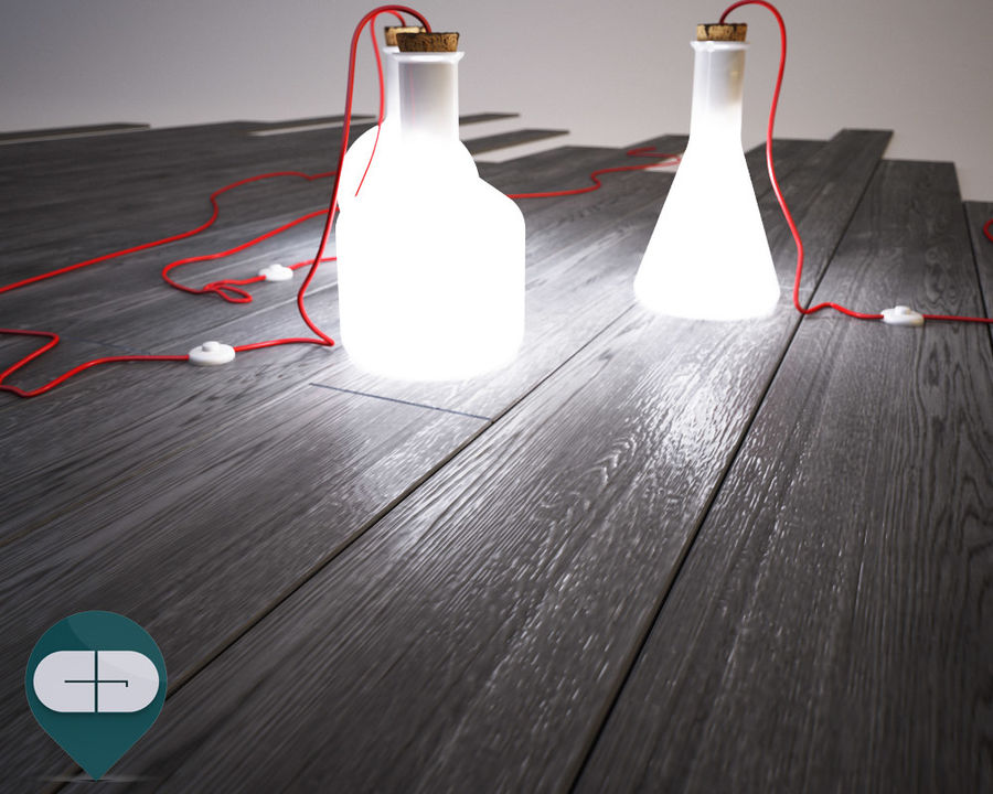 dark floor royalty-free 3d model - Preview no. 3