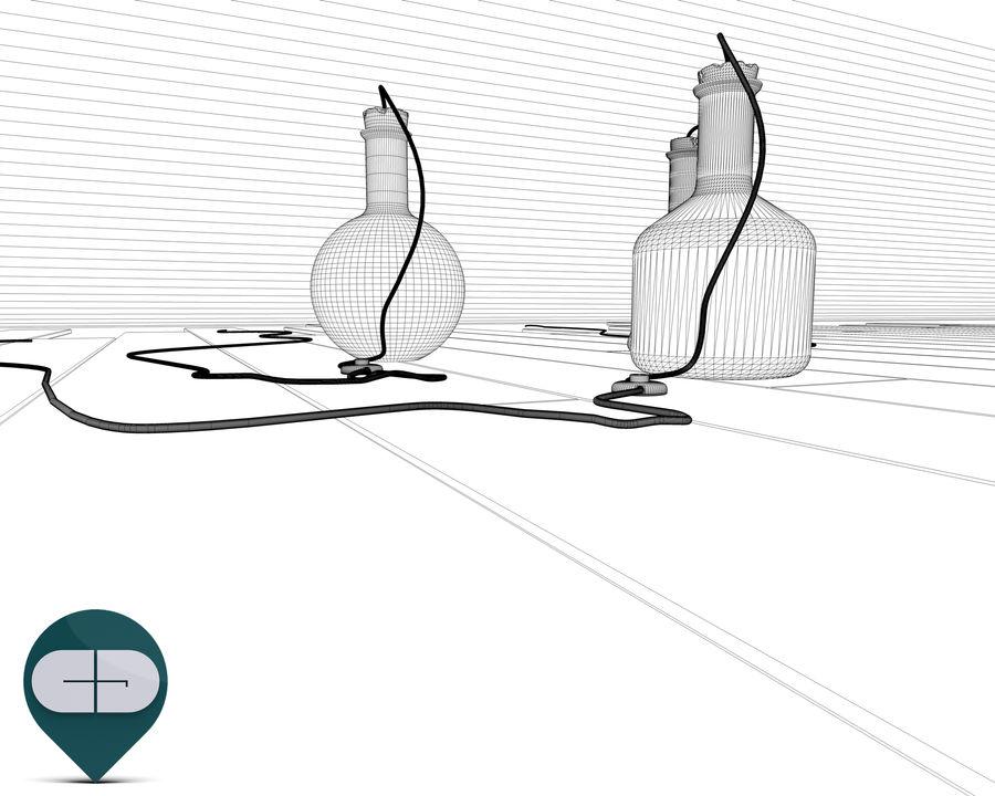 dark floor royalty-free 3d model - Preview no. 12