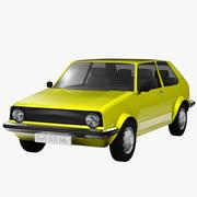 Golf Mk1 3d model