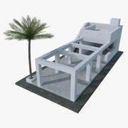 Landscape architectural structure 003 3d model