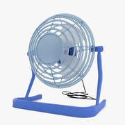 台式风扇 3d model