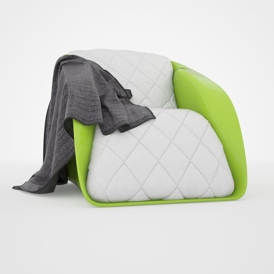 Sofa Stuhl royalty-free 3d model - Preview no. 1