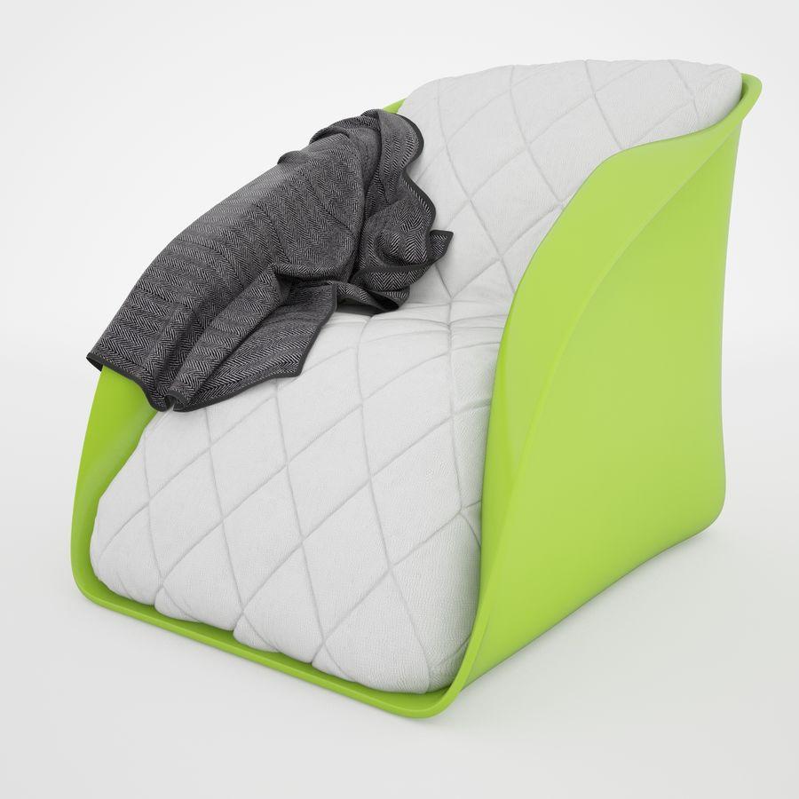 Sofa Stuhl royalty-free 3d model - Preview no. 3