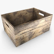 Drewniane pudełko 03 (kolor 3) 3d model