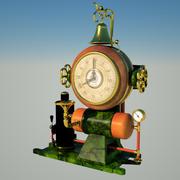 steampunk klocka nr 1 3d model