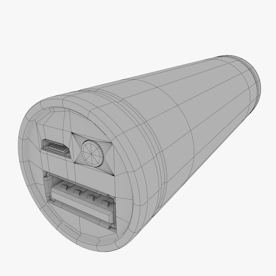 Power Bank royalty-free 3d model - Preview no. 7