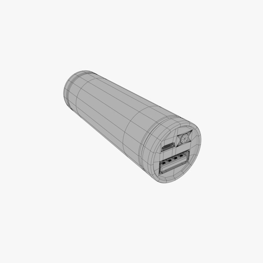 Power Bank royalty-free 3d model - Preview no. 6