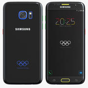 Samsung Galaxy S7 Edge Olympic Games Edition 3d model