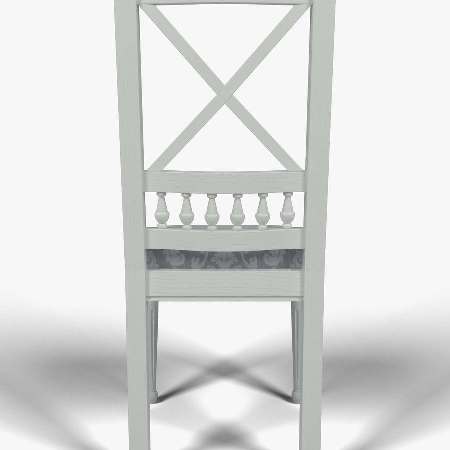 Silla de cocina 3 royalty-free modelo 3d - Preview no. 6