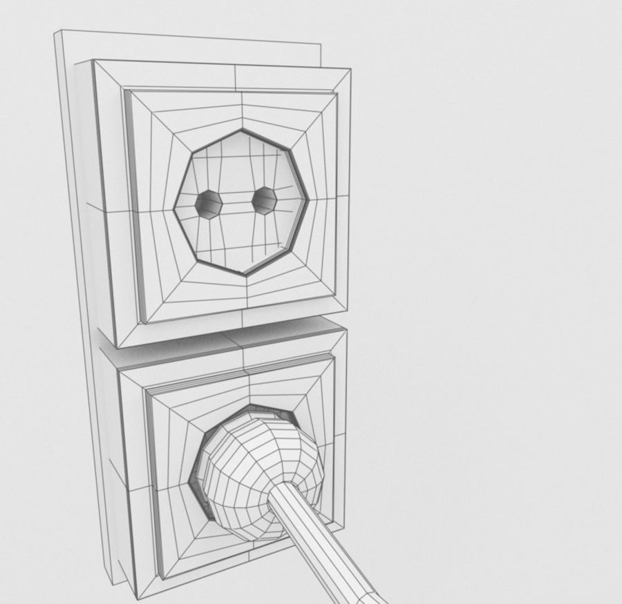 Radio royalty-free 3d model - Preview no. 12