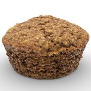 Muffin i ciastko 3d model