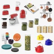 Детали кухни 3d model