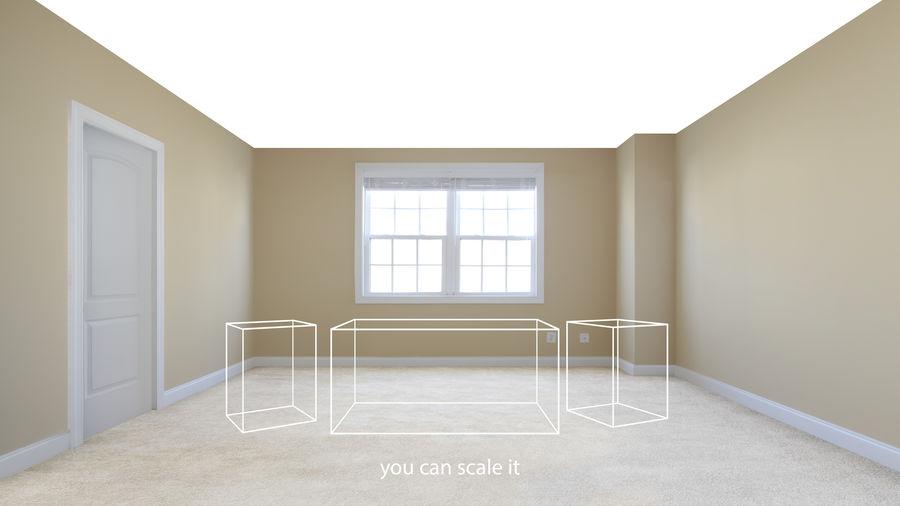 寝室のシーン royalty-free 3d model - Preview no. 4