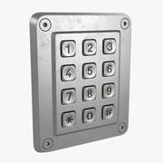 Keypad 3d model